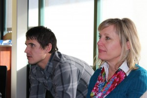 Jeremy Resmer, Sr. Director of Projects & Kathy Davis, Director of Wholistic Care