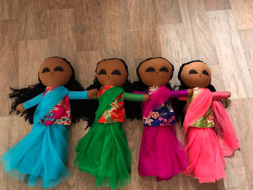 You can support the women's sewing business by purchasing a doll! - Purchasing information: becky@worldorphans.org