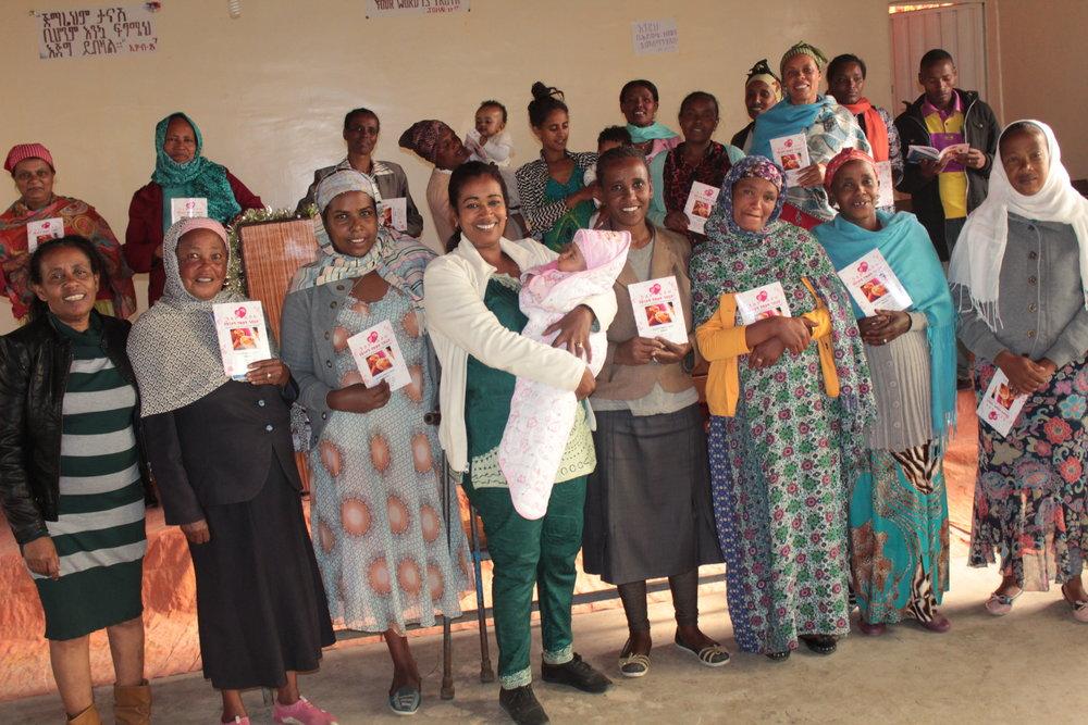 women in class in ethiopia