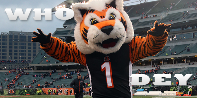 Join us for the next preseason game vs the Lions.  Game is TOMORROW (Thursday) at 7:30pm.  Come in early and join us for Cincinnati food specials, the raffle that benefits the Kenny Anderson Foundation and much much more!  Who Dey!!!