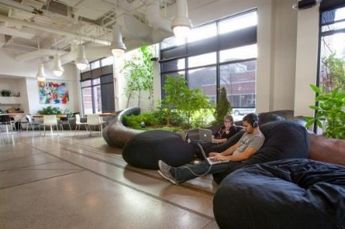 inspiring office design. How Millennials Are Inspiring Healthier Office Design \u2014 Today\u0027s Systems  Corporation Inspiring Office Design