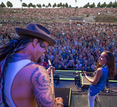 Taimane and Michael Franti - The Gorge, WA