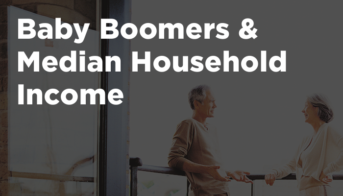 Baby Boomers & Median Household Income