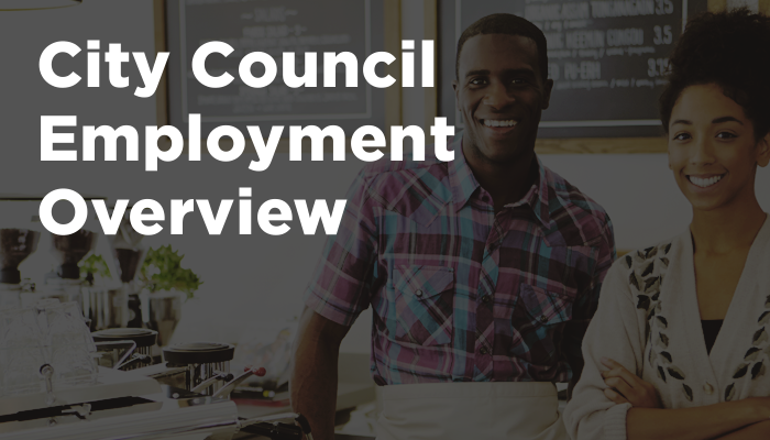 City Council Employment Overview