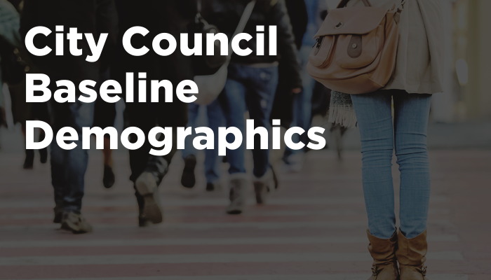 City Council Baseline Demographics