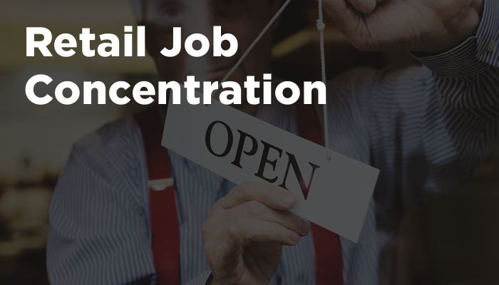 Retail Job Concentration