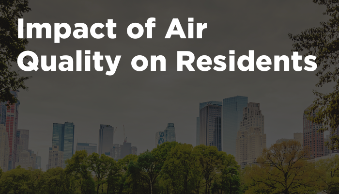 Impact of Air Quality on Residents