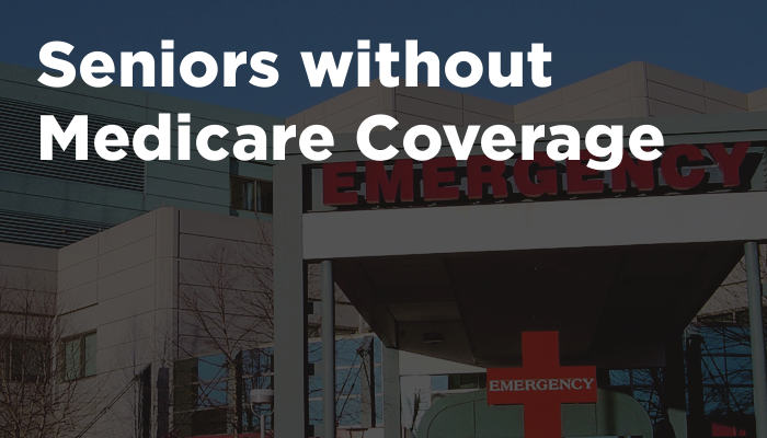 Seniors without Medicare Coverage