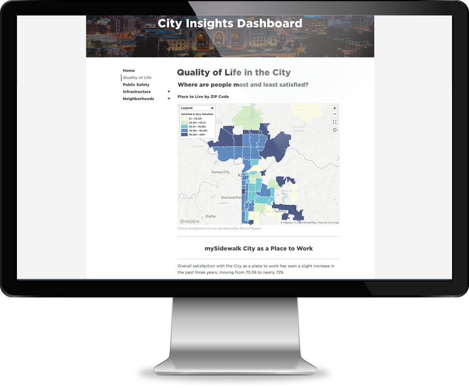 City Insights Dashboard