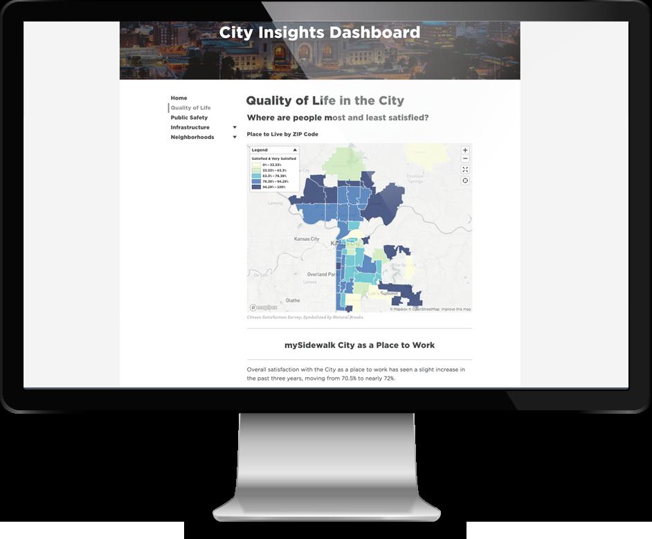 City Insights Dashboard