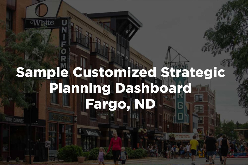 To see a sample of a Customized Strategic Planning Dashboard, click here.