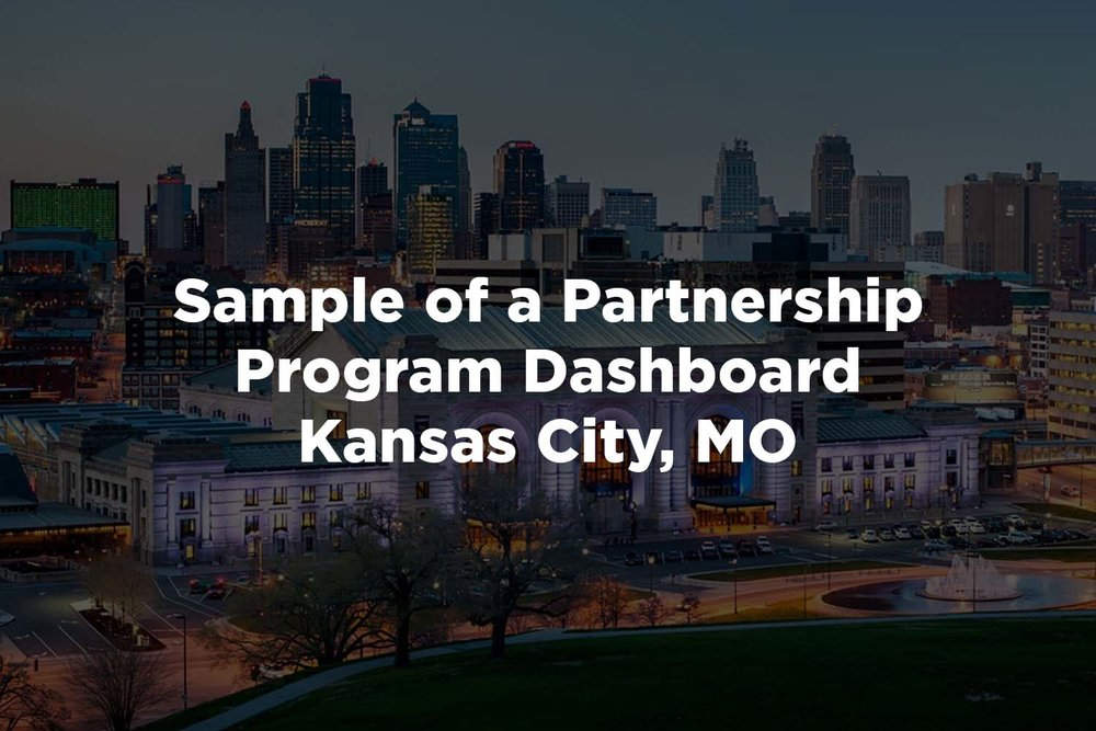 To see a sample of a Partnership Program Dashboard, click here.