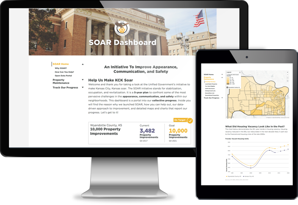 Read case study about Kansas City, KS improving with their SOAR Dashboard