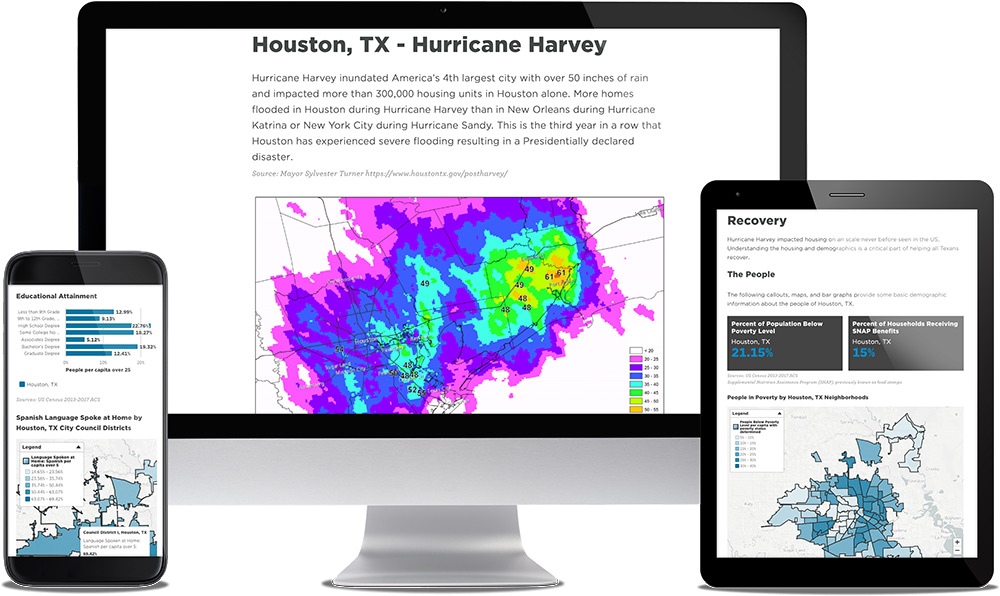 See Sample Hurricane Harvey Resilience Report