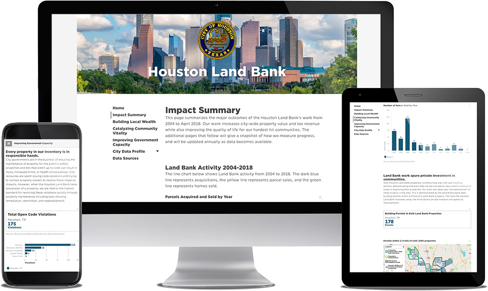 See Sample Community Development Dashboard