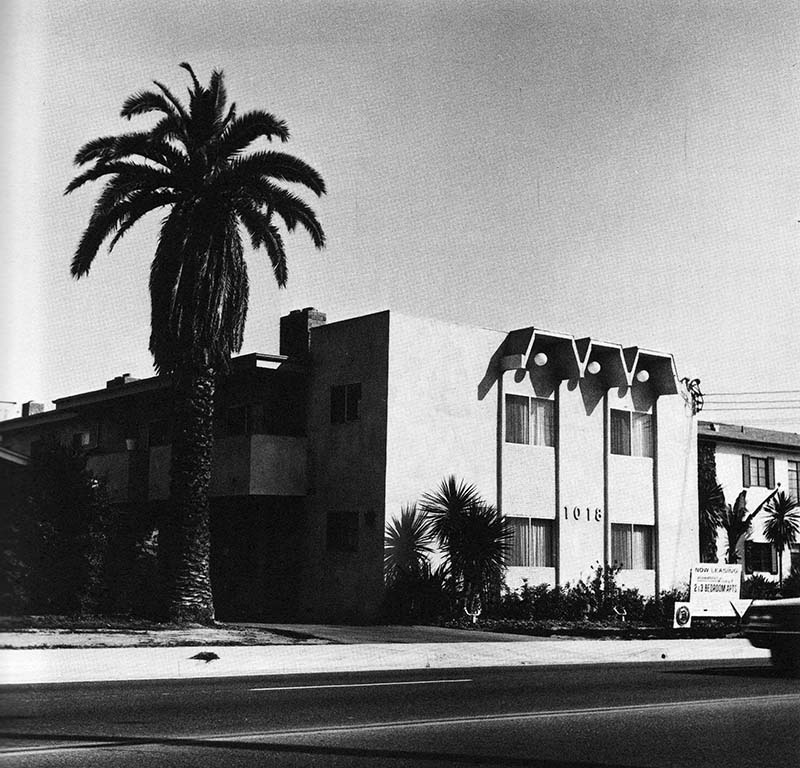 """Edward Ruscha, """"1018 S. Atlantic Blvd.,"""" from Some Los Angeles Apartments, 1965"""