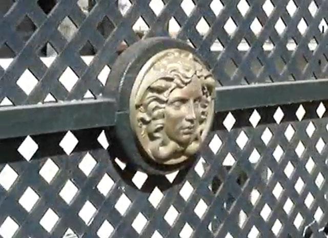 Balcony Ironwork Detail, Casa Casuarina, Miami