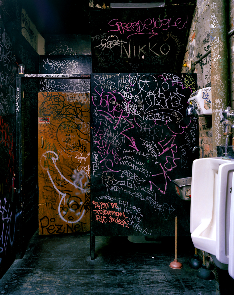 THE COCK: Bathroom View #2, New York, NY, USA, 2002