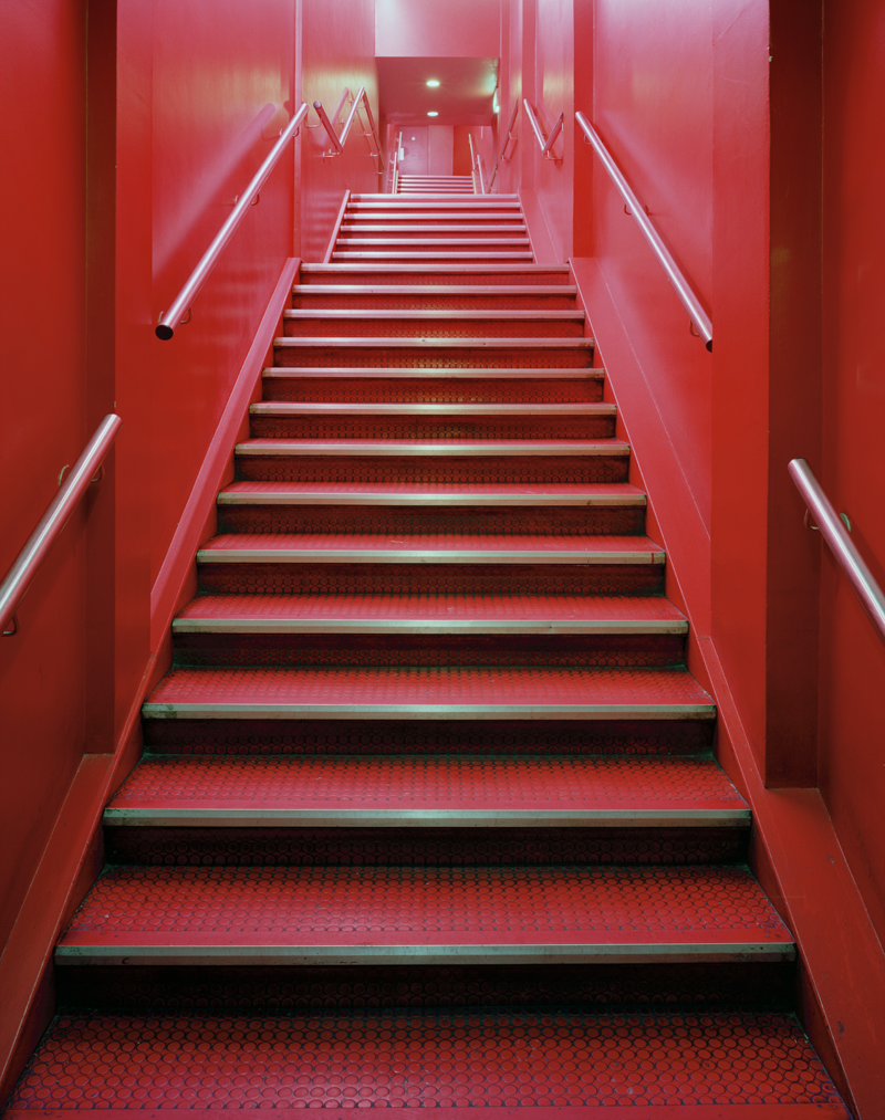 THE SCALA: Pink Staircase, London, UK, 2003
