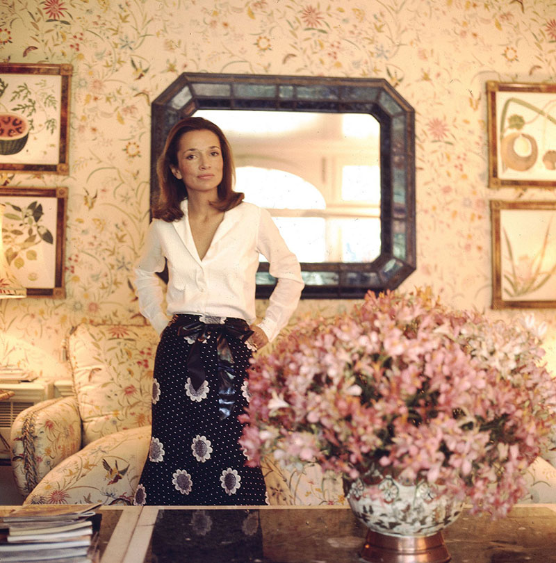 Lee Radziwill, photograph by Horst, Vogue, July 1971