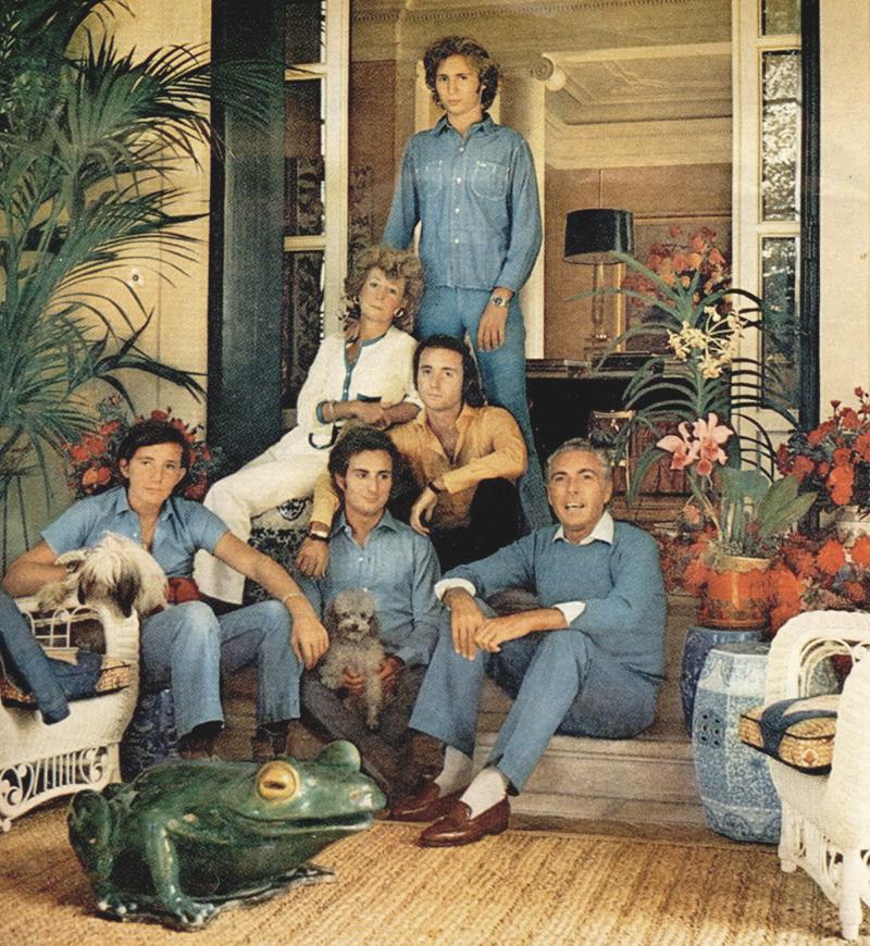 Brandolini Family Portrait, photo by Horst