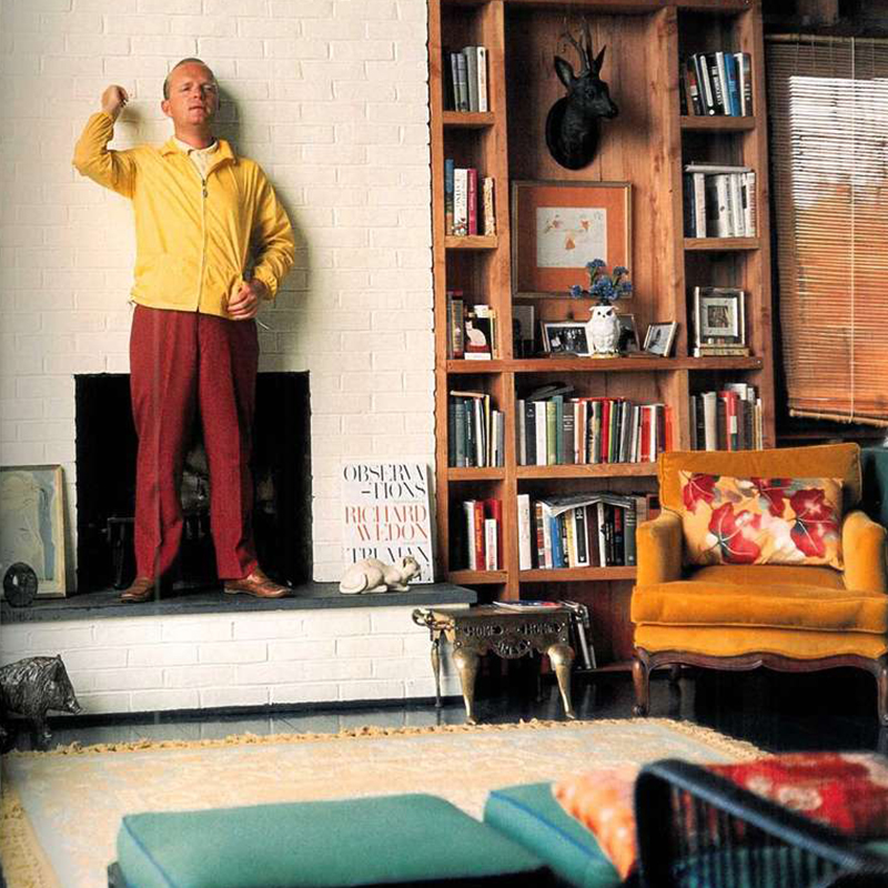 Truman Capote, photo by Horst, 1965