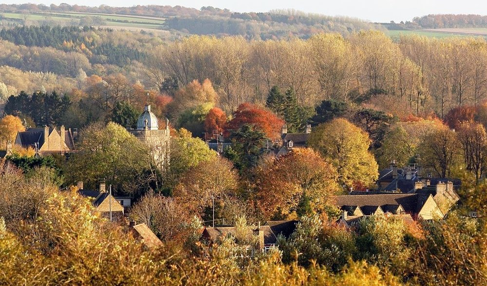 Cotswolds at autumn