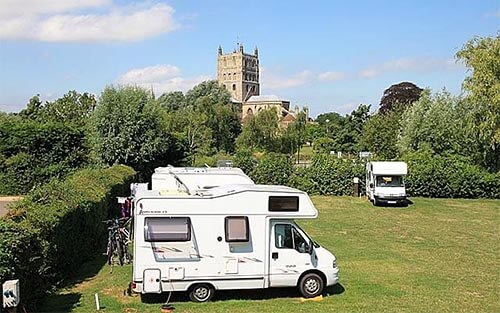 Tewkesbury Abbey Caravan and Camping Site