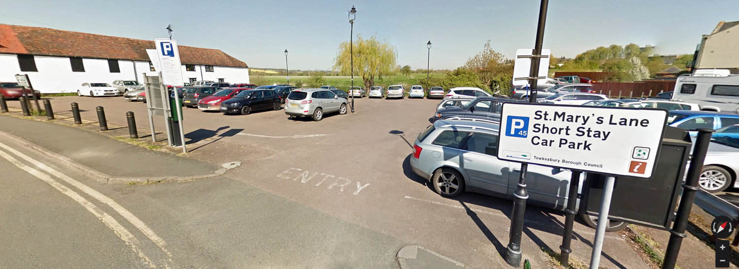 Car parks and charges — Tewkesbury Borough Council