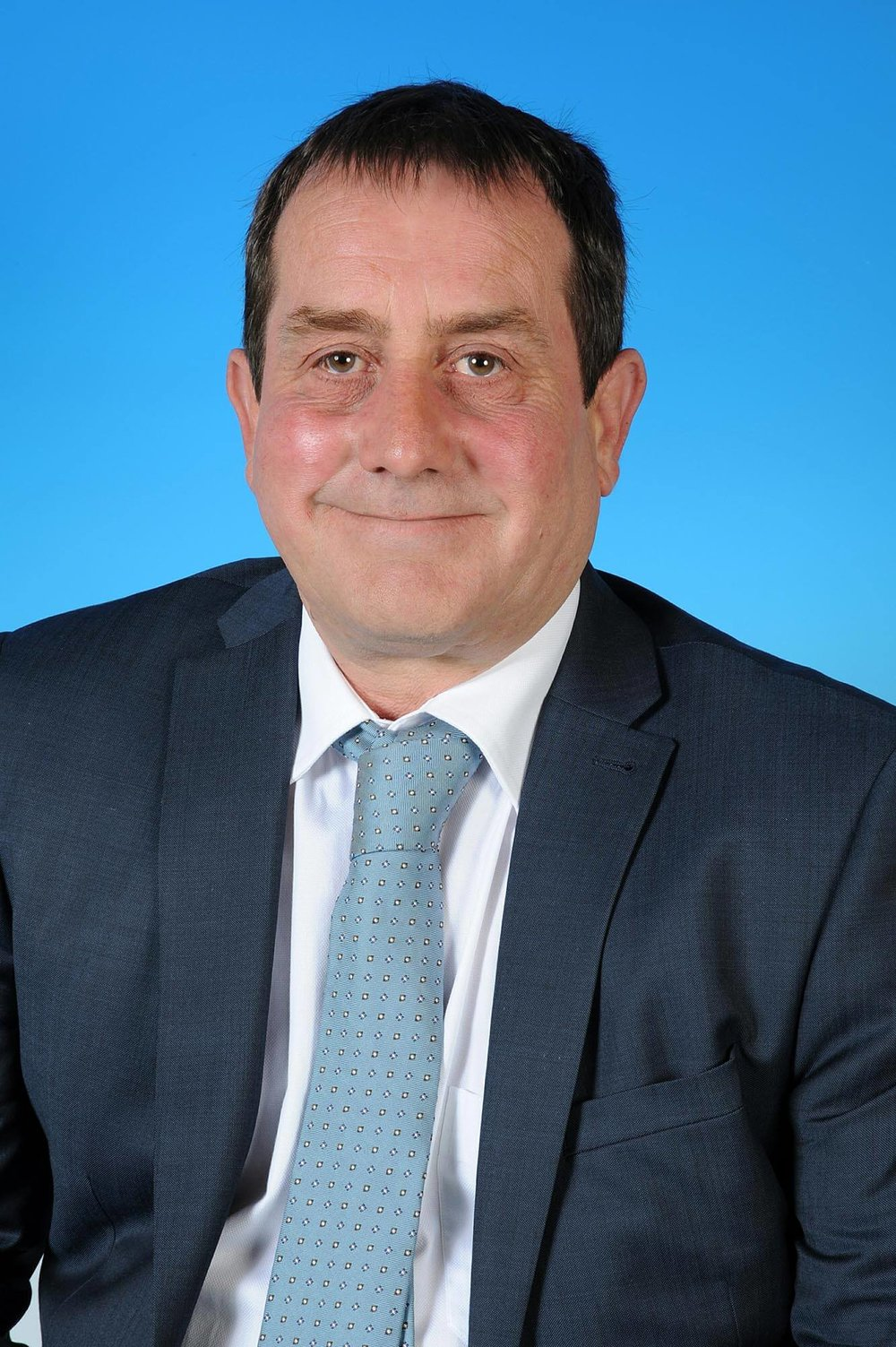 Councillor Richard Bishop - photo courtesy of Posers Photographic