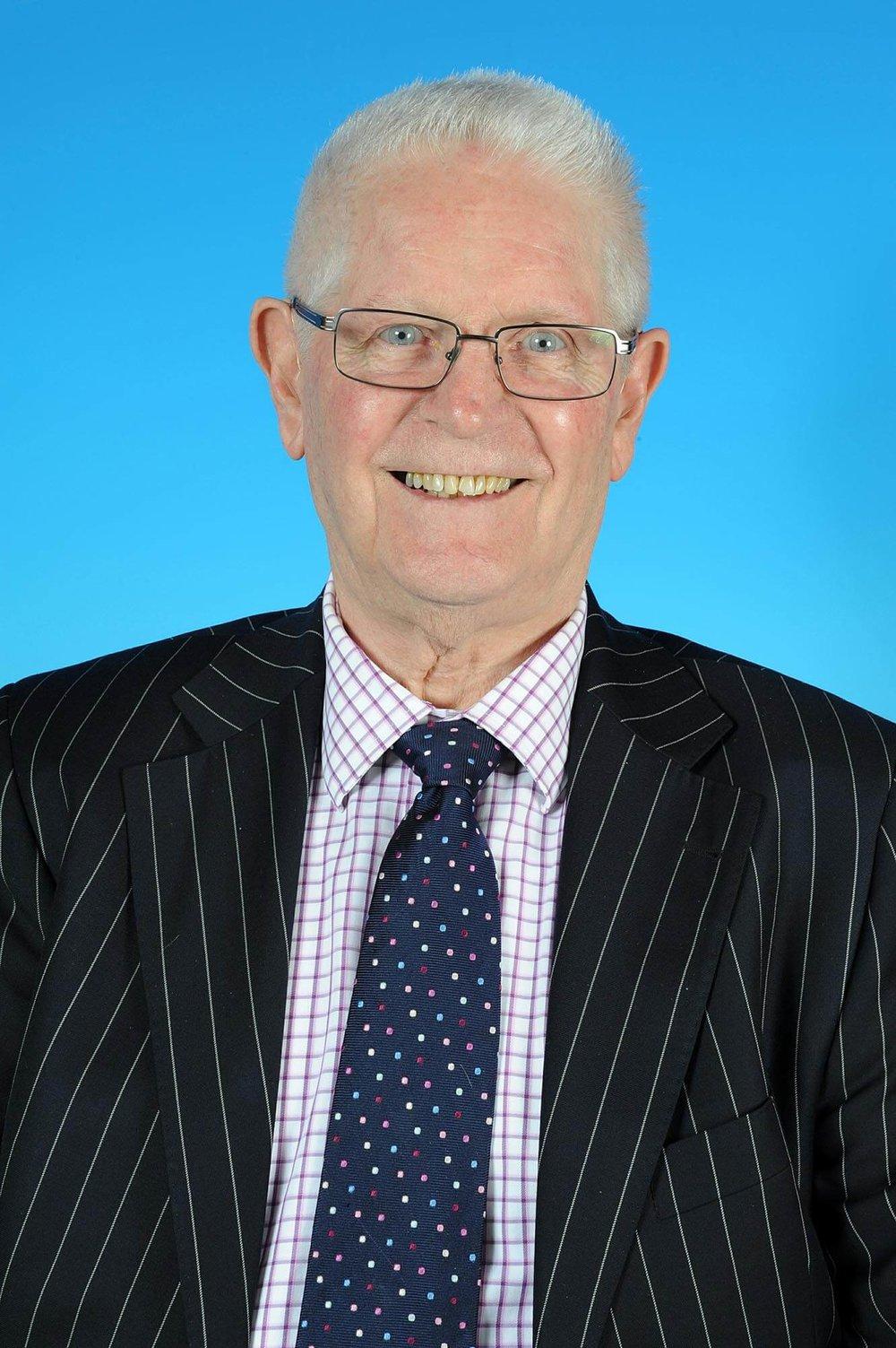 Councillor Derek Davies- photo courtesy of Posers Photographic