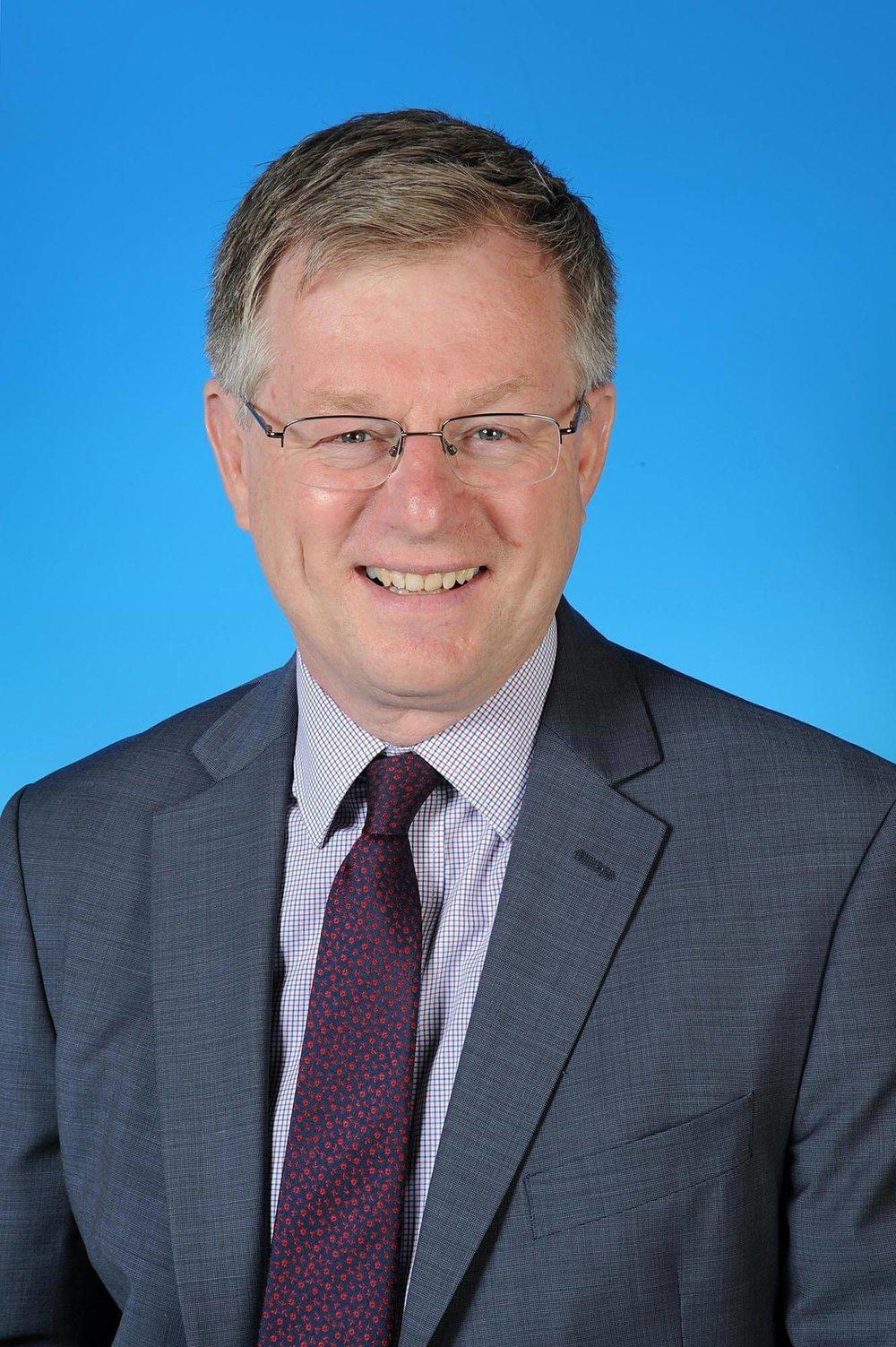 Councillor Rob Garnham - photo courtesy of Posers Photographic