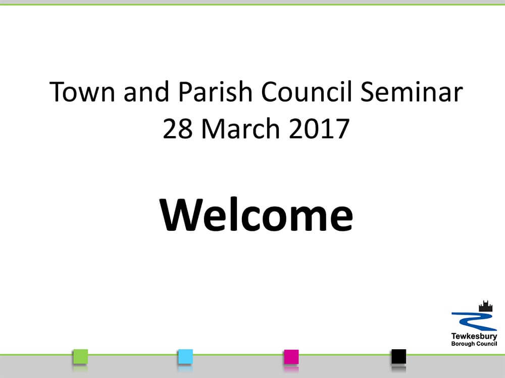 Parish seminar presentation - 28 March 2017