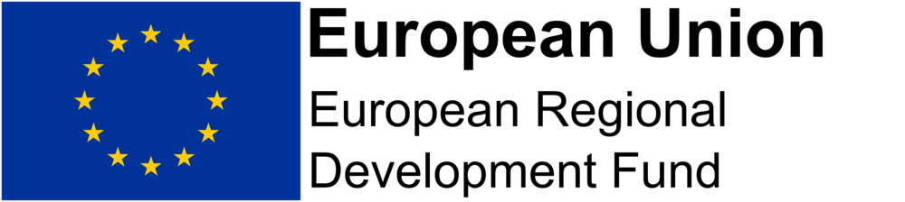 - Part-funded by European Regional Development Fund