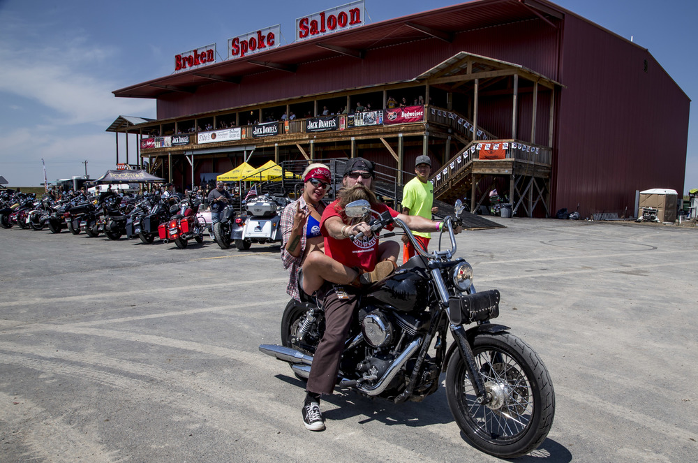 Sturgis Rally attendees