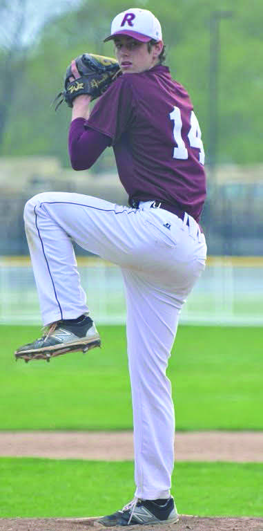 Jared Gaer Pitching with Impeccable Form.