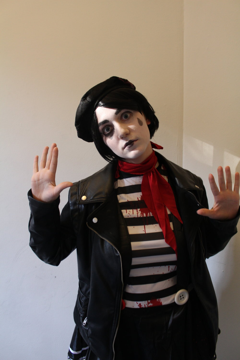 Maya Shabtai/Riverdale Review  A Student Dresses as a Mime.