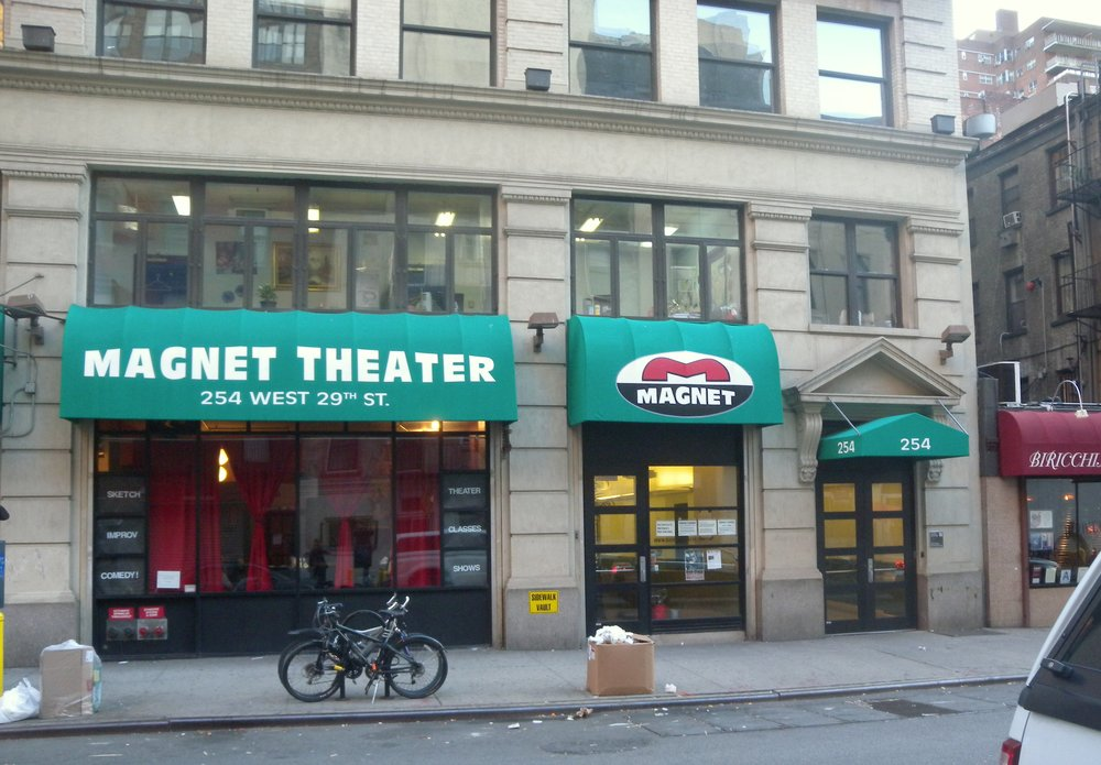 The Magnet Theater. Image courtesy of Jim.henderson/Wikimedia Commons.
