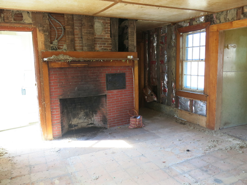Kitchen Fire Place