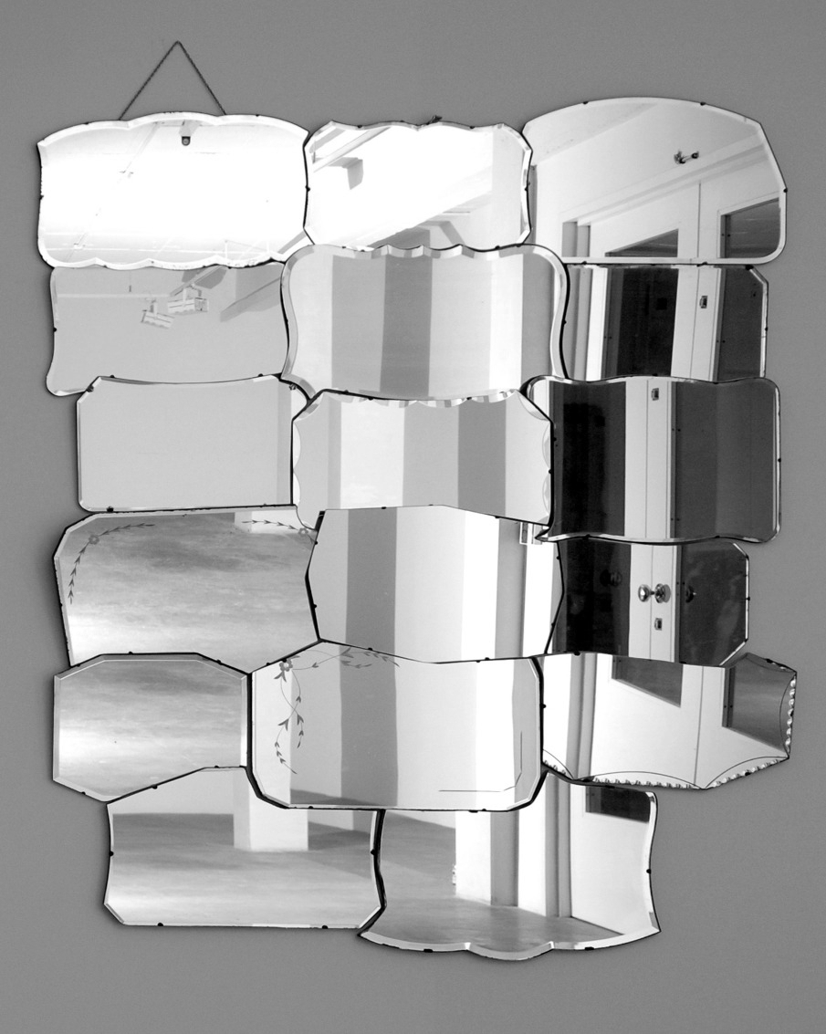 Henry Krokatsis_Mirror painting- 2005_salvaged mirrors recut- wood- chain_ 150  x 210 cm_905.jpg