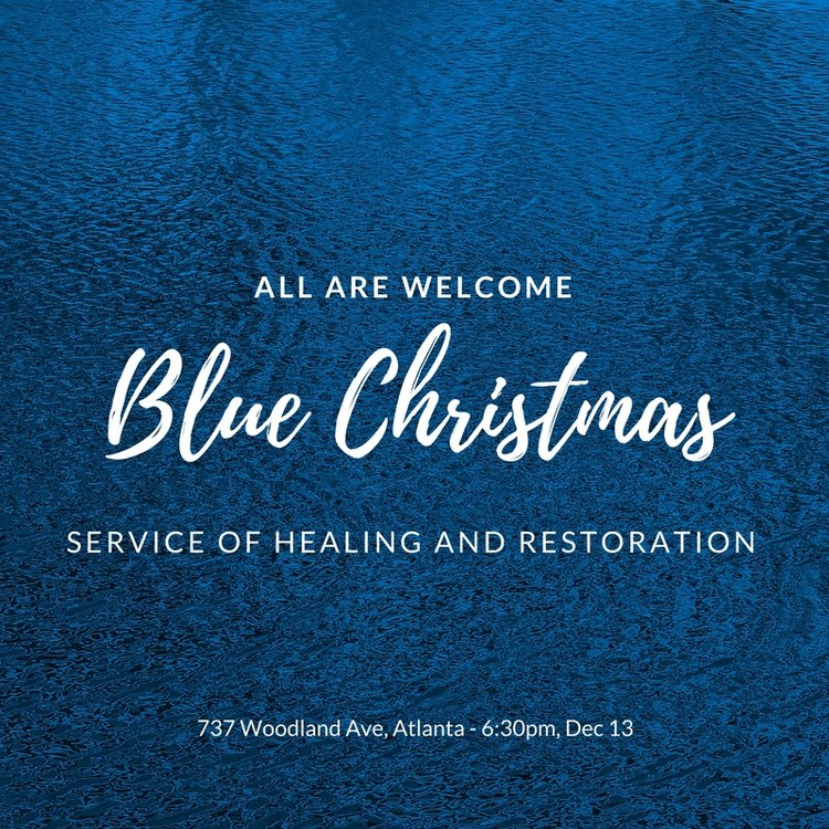 blue christmasjpg - Blue Christmas Service