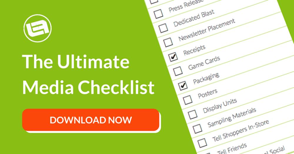 the ultimate media checklist