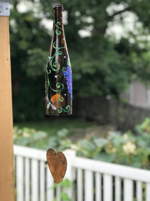 Wind Chime Painting @ Weathered Vineyards — Squeeze Spot/Love Your