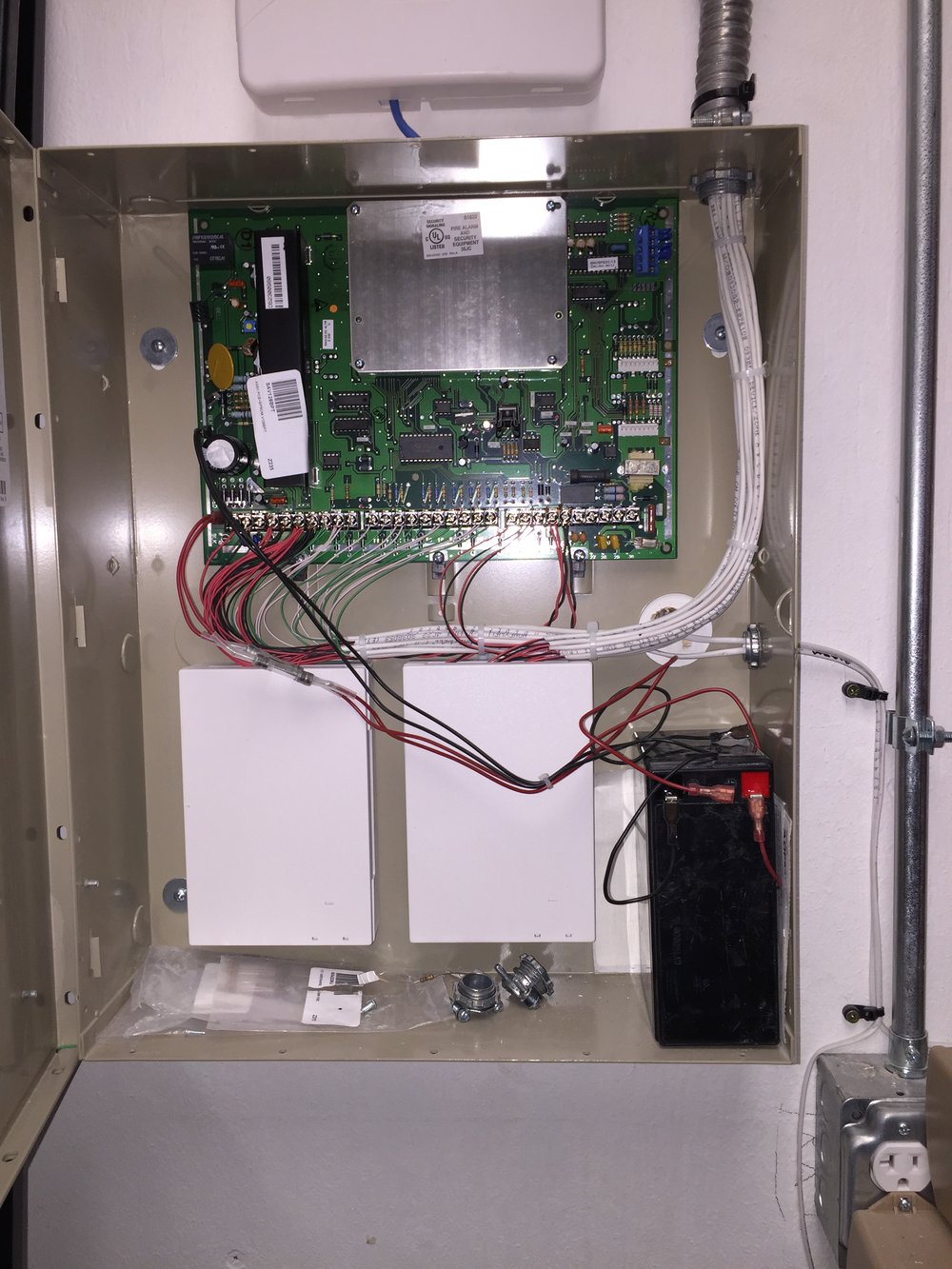 Wired Burglary Alarm system