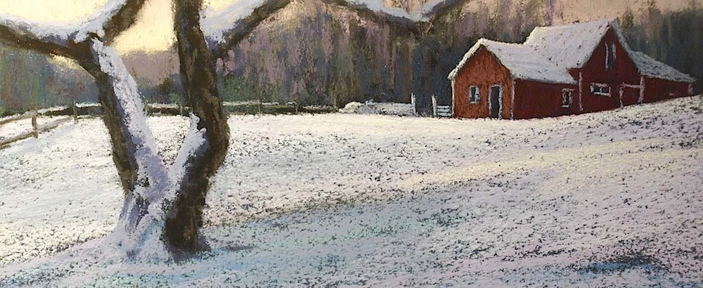 Apple Tree in Winter. Grafton, Vermont