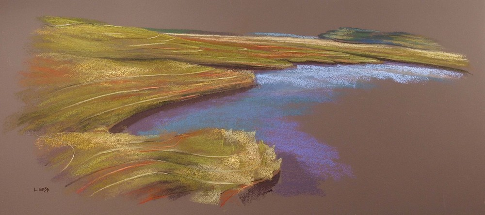 Marsh Topography. Essex