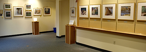 Weston Town Library Exhibit
