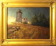 Gold Plein Air framing