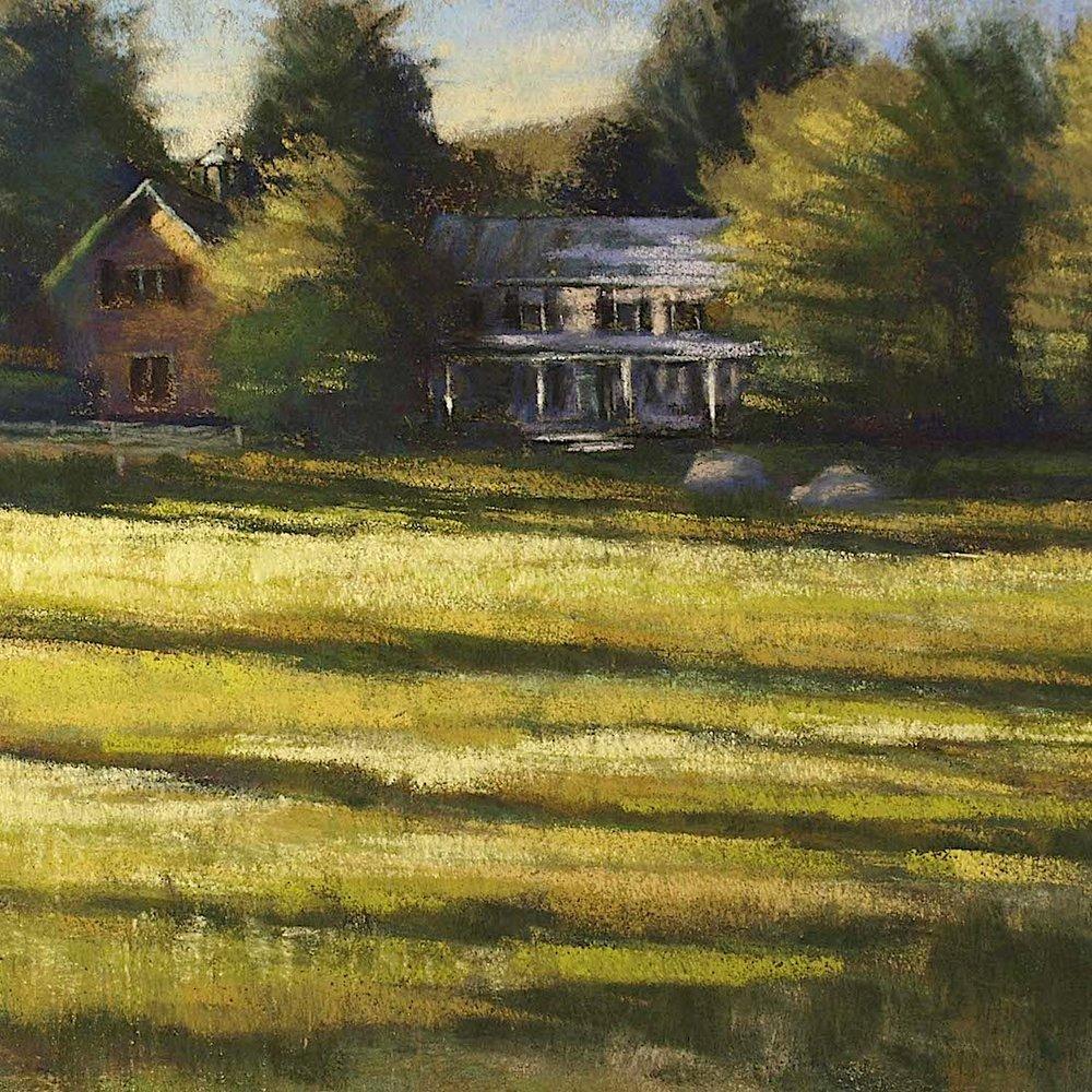 House at the Edge of the Farm. Weston