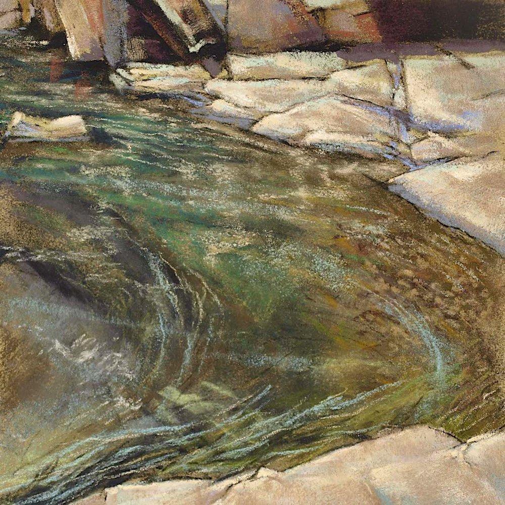 Sierra Foothills. Yuba River Current